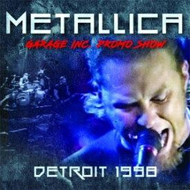 DETROIT 1998 【輸入盤】▼/METALLICA[CD]【返品種別A】