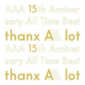【送料無料】[限定盤][先着特典付]AAA 15th Anniversary All Time Best -thanx AAA lot-(初回生産限定盤)/AAA[CD]【返品種別A】