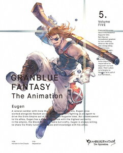 GRANBLUEFANTASYTheAnimation5(完全生産限定版)|アニメーション|ANZX-11849/50