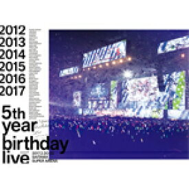 【送料無料】[枚数限定][限定版]5th YEAR BIRTHDAY LIVE 2017.2.20-22 SAITAMA SUPER ARENA【4Blu-ray 完全生産限定盤】/乃木坂46[Blu-ray]【返品種別A】