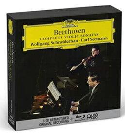 【送料無料】[枚数限定][限定盤]ベートーヴェン:ヴァイオリン・ソナタ全集[3CD+BLU-RAY AUDIO]【輸入盤】▼/ヴォルフガング・シュナイダーハン[CD]【返品種別A】