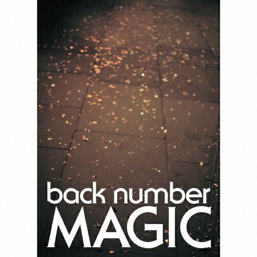 【送料無料】[限定盤]MAGIC(初回限定盤A Blu-ray)/back number[CD+Blu-ray]【返品種別A】