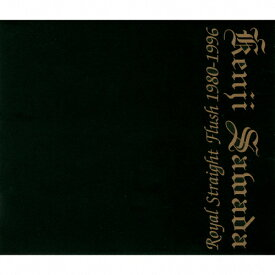 【送料無料】Royal Straight Flush 1980-1996/沢田研二[SHM-CD]【返品種別A】