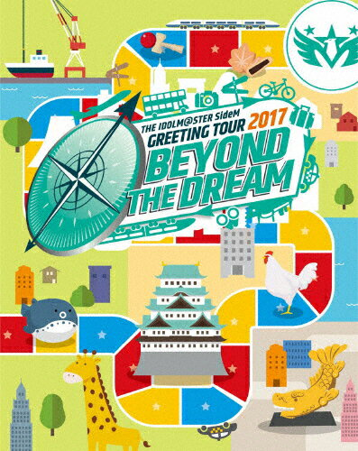 【送料無料】THE IDOLM@STER SideM GREETING TOUR 2017 〜BEYOND THE DREAM〜 LIVE Blu-ray/アイドルマスターSideM[Blu-ray]【返品種別A】