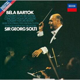 [枚数限定][限定盤]バルトーク:管弦楽のための協奏曲、弦楽器・打楽器とチェレスタのための音楽/サー・ゲオルグ・ショルティ[CD]【返品種別A】