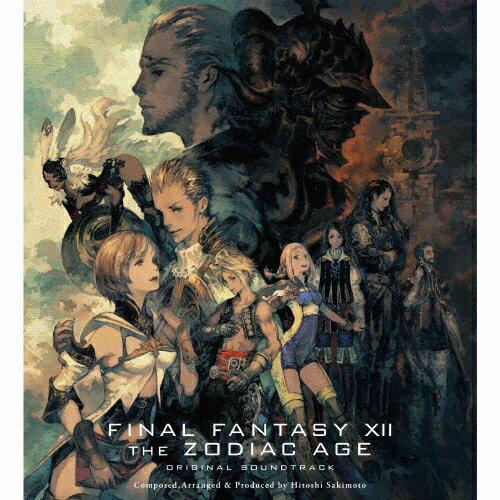 【送料無料】[枚数限定][限定盤]FINAL FANTASY XII THE ZODIAC AGE Original Soundtrack(初回生産限定盤)【映像付サントラ/Blu-ray Disc Music】/ゲーム・ミュージック[CD+Blu-ray]【返品種別A】