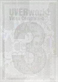【送料無料】[枚数限定][限定版][先着特典付]Video Complete-act.3-(初回生産限定盤)【DVD】/UVERworld[DVD]【返品種別A】