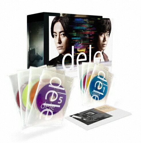 "【送料無料】[先着特典付]dele(ディーリー)Blu-ray PREMIUM""undeleted""EDITION【8枚組】/山田孝之、菅田将暉[Blu-ray]【返品種別A】"