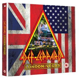 【送料無料】[枚数限定][限定版]LONDON TO VEGAS [DELUXE BOX 2Blu-ray+4CD]【輸入盤】▼/DEF LEPPARD[Blu-ray]【返品種別A】