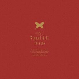 【送料無料】[枚数限定][限定版]The Signal Gift【完全限定生産Blu-ray・BOX】◆/テヨン[Blu-ray]【返品種別A】