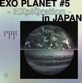 【送料無料】[枚数限定][限定版][先着特典付]EXO PLANET #5 - EXplOration - in JAPAN(初回生産限定)【Blu-ray】/EXO[Blu-ray]【返品種別A】