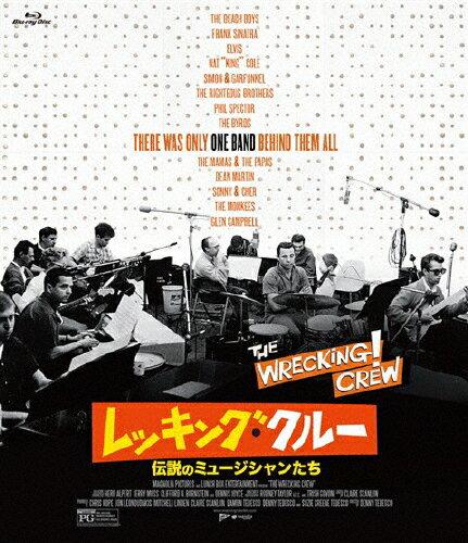 【送料無料】レッキング・クルー 〜伝説のミュージシャンたち〜/ブライアン・ウィルソン[Blu-ray]【返品種別A】