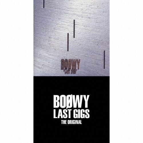 【送料無料】[限定盤]LAST GIGS -THE ORIGINAL-(完全限定盤スペシャルボックス)/BOΦWY[CD]【返品種別A】