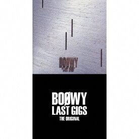 【送料無料】[枚数限定][限定盤]LAST GIGS -THE ORIGINAL-(完全限定盤スペシャルボックス)/BOΦWY[CD]【返品種別A】