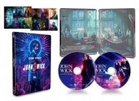 【送料無料】[枚数限定][限定版]ジョン・ウィック:パラベラム コレクターズ・エディション【数量限定スチールブック仕様・日本オリジナルデザイン】(Blu-ray)/キアヌ・リーブス[Blu-ray]【返品種別A】