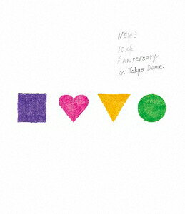 【送料無料】[枚数限定]NEWS 10th Anniversary in Tokyo Dome【Blu-ray】/NEWS[Blu-ray]【返品種別A】