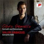 CARO GEMELLO ‐ FARINELLI AND METASTASIO【輸入盤】▼/VALER SABADUS[CD]【返品種別A】