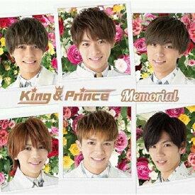 Memorial(通常盤)/King & Prince[CD]【返品種別A】