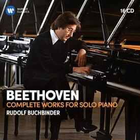 【送料無料】ベートーヴェン:ピアノ独奏作品全集 【輸入盤】▼/ルドルフ・ブッフビンダー[CD]【返品種別A】
