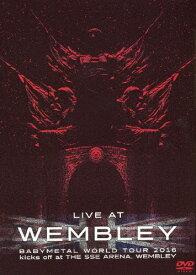 【送料無料】「LIVE AT WEMBLEY」BABYMETAL WORLD TOUR 2016 kicks off at THE SSE ARENA,WEMBLEY/BABYMETAL[DVD]【返品種別A】