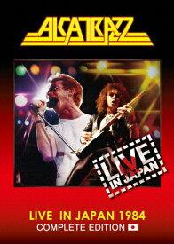 【送料無料】ライヴ・イン・ジャパン1984〜コンプリート・エディション/アルカトラス[Blu-ray]【返品種別A】