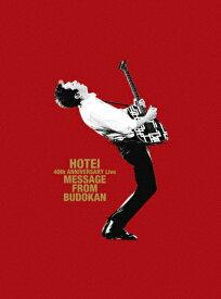 """【送料無料】[枚数限定][限定版][先着特典付]40th ANNIVERSARY Live """"Message from Budokan""""(メモリアルピック&フォトフレーム付完全数量限定盤)Blu-ray盤/布袋寅泰[Blu-ray]【返品種別A】"""