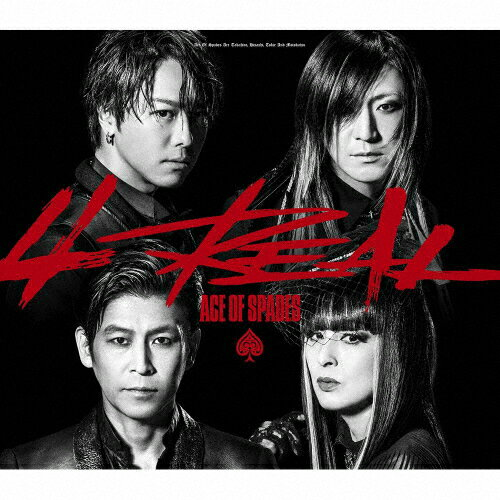 【送料無料】4REAL(DVD付)/ACE OF SPADES[CD+DVD]【返品種別A】