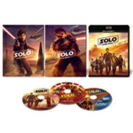 【送料無料】[枚数限定][限定版]ハン・ソロ/スター・ウォーズ・ストーリー MovieNEX【初回版】[2Blu-ray&DVD]/オールデン・エアエンライク[Blu-ray]【返品種別A】
