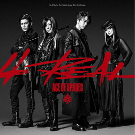 4REAL/ACE OF SPADES[CD]【返品種別A】