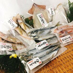 干物セット ギフト 鳥取県境港産 こだわりの贅沢干物 丸干し6種セット 送料無料 冷凍 のどぐろ アジ カレイ ハタハタ ウルメ スルメいか フライパン調理可能