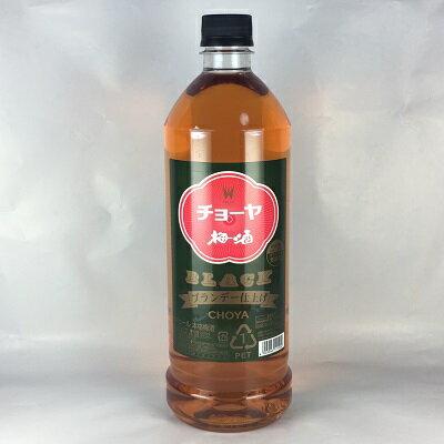 梅酒 チョーヤ ザ・ブラック 1800mlペット ブランデー仕上げ チョーヤ梅酒