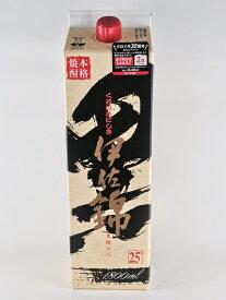 芋焼酎 大口酒造 黒伊佐錦 25度 紙パック 1800ml 1.8L いも焼酎