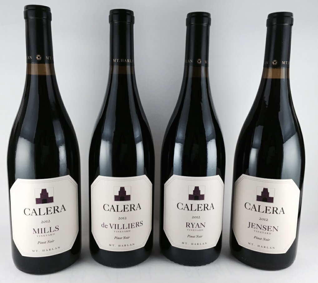 送料無料 数量限定 希少カリフォルニアワイン 「カレラ ピノ・ノワール」  飲み比べ 4本セット