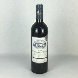 赤ワイン シャトー・ラ・デュ・テルトル 2006 ボルドー シュペリュール 750ml フランス