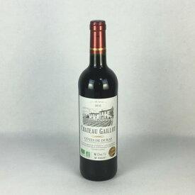 赤ワイン シャトー・ガイヨ コート・ド・デュラ 2016 750ml フランス ボルドー コンクール 2017 金賞受賞
