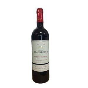 赤ワイン フランス ボルドー シャトー・ボーセジュール 2001 カスティヨン・コート・ド・ボルドー 750ml