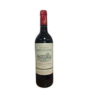 赤ワイン フランス ボルドー シャトー・ボーセジュール 2003 カスティヨン・コート・ド・ボルドー 750ml