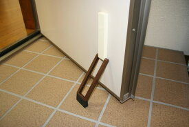 玄関扉 ドアストッパー ノムラテック ドアストッパーf ブラウン色 N-2369