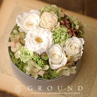 結婚祝い、花、プリザーブドフラワー、GROUND、グラウンド、神戸