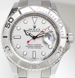 【時計】 ROLEX ロレックス ヨットマスター 16622 Cal.3135 プラチナベゼル SS 純正 自動巻き 稼働品 付属品有り 【中古品】