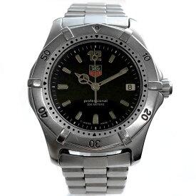 【時計】TAG HEUER タグホイヤー 2000シリーズ クラシック 200m防水 SS Quartz 電池交換済 WK1210【中古】