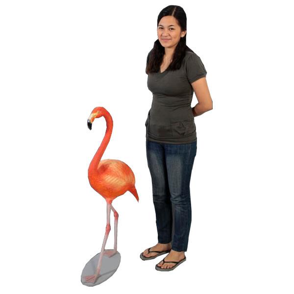 置物動物インテリア 鳥動物オブジェ フラミンゴ / Flamingo