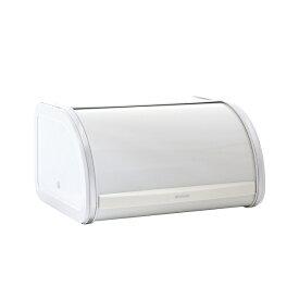 ブラバンシア brabantia ブレッドビン オフホワイトパン収納ケースブレッドビン ロールトップ ミディアム 34912-6【送料無料】