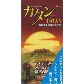 カタン スタンダード 5-6人用拡張版 (ボードゲーム カードゲーム) 8歳以上 90分程度 3-6人用