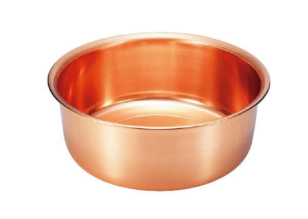 純銅製洗い桶30cm (S-9360S)【日本産】【送料無料】【新光金属】