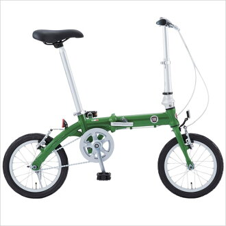Fiat (FIAT) aluminum folding bike AL-FDB140 (14 inch / single) commute to school フイアツト bike