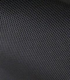 送料無料 在庫限り 生地カット販売 【SINCOL】ハニカム メッシュ ブラック色 ( シンコール 生地巾約150cm、単位は1mになります ) 黒 ハニカム構造 通気性 日本製