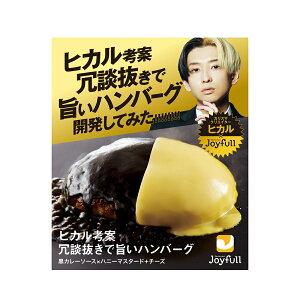 ヒカル 考案 冗談抜きで旨い ハンバーグ (120g) 黒カレーソース × ハニーマスタード + チーズ 付き 6個入り 冷凍 送料無料 198