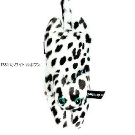 サビィ&ルポワン プリントバッグ ホワイトルポワン 猫 トートバッグ《マリーメゾン》