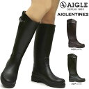 【あす楽】エーグル AIGLE 長靴 レディース ZZF8880 エーグランティーヌ レインブーツ ロング 防水 ジョッキーブーツ …